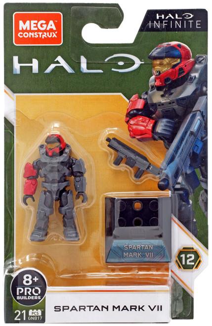 Halo Infinite Heroes Series 12 Spartan Mark VII Mini Figure GNB17
