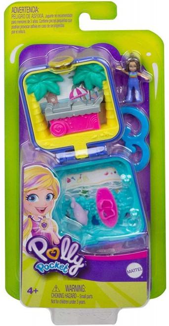 Polly Pocket Micro Shani Tropical Beach Playset