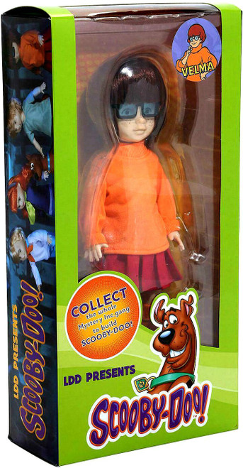 Living Dead Dolls Scooby Doo & Mystery Inc. Velma Doll [Contains Part to Build Scooby-Doo!] (Pre-Order ships January)