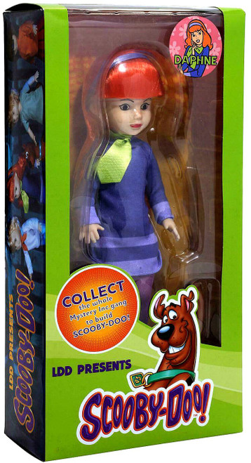 Living Dead Dolls Scooby Doo & Mystery Inc. Daphne Doll [Contains Part to Build Scooby-Doo!] (Pre-Order ships January)