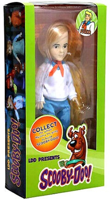 Living Dead Dolls Scooby Doo & Mystery Inc. LDD Presents Fred Doll [Contains Part to Build Scooby-Doo!] (Pre-Order ships January)
