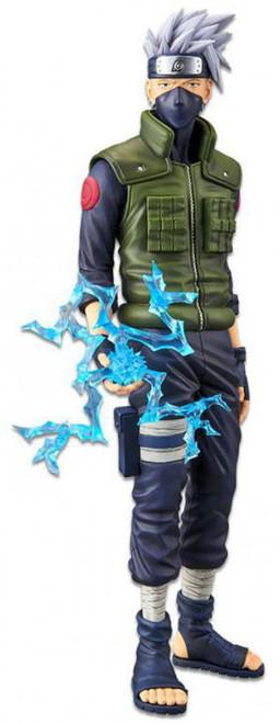 Naruto Shippuden Grandista Nero Kakashi Hatake 11.4-Inch Collectible PVC Figure (Pre-Order ships January)