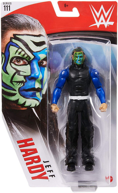 WWE Wrestling Series 111 Jeff Hardy Action Figure (Pre-Order ships January)