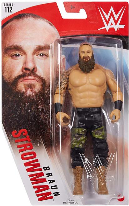 WWE Wrestling Series 112 Braun Strowman Action Figure