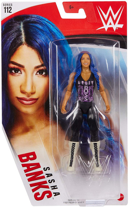 WWE Wrestling Series 112 Sasha Banks Action Figure