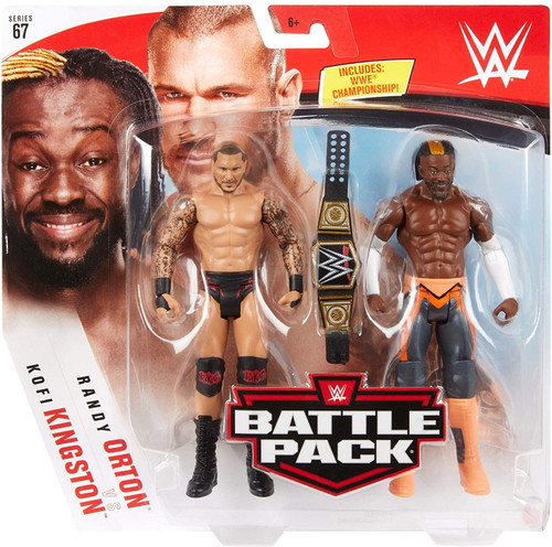 WWE Wrestling Battle Pack Series 67 Kofi Kingston & Randy Orton Action Figure 2-Pack