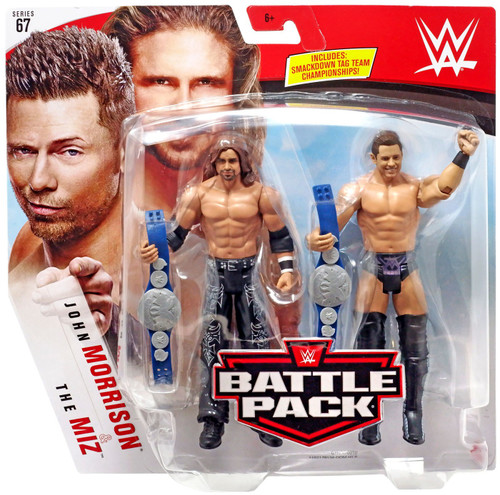 WWE Wrestling Battle Pack Series 67 The Miz & John Morrison Action Figure 2-Pack