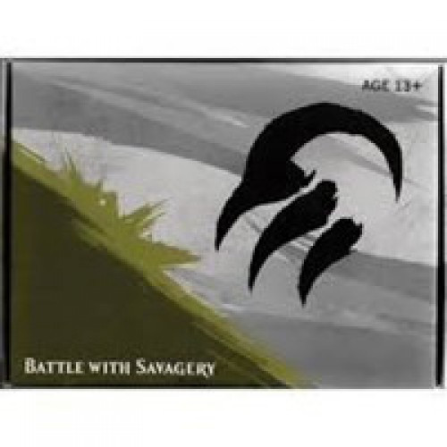 MtG Trading Card Game Fate Reforged Temur Pre-Release Kit [Battle With Savagery]
