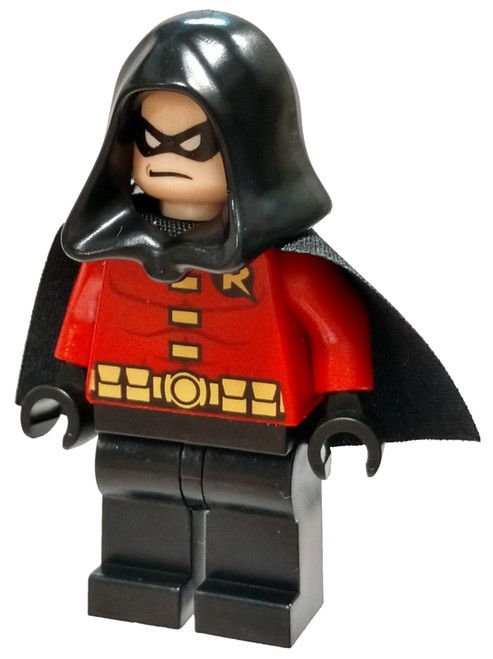 LEGO DC Universe Super Heroes Batman II Robin Minifigure [Black Cape and Hood Loose]