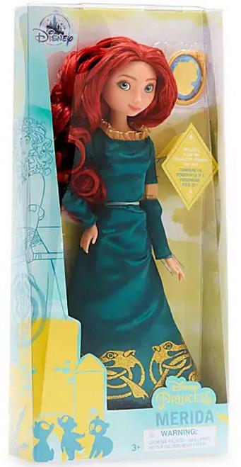 Disney Princess Brave Classic Princess Merida 11.5-Inch Doll [With Pendant]