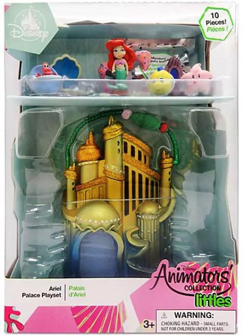 Disney The Little Mermaid Littles Animators' Collection Ariel Surprise Feature Exclusive Micro Playset [2020]