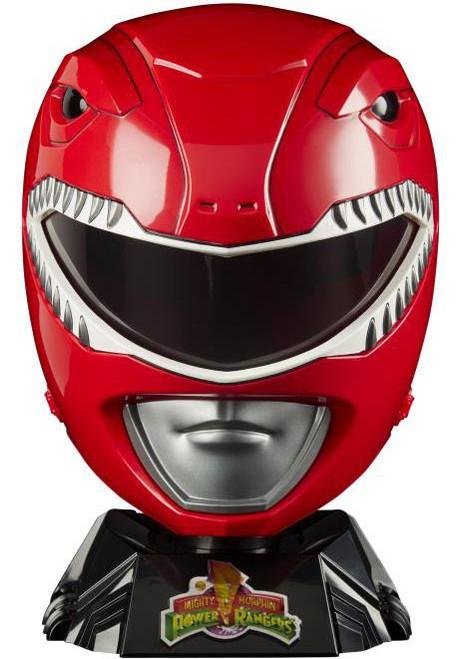 Power Rangers Mighty Morphin Lightning Collection Red Ranger Wearable Helmet [Jason Lee Scott]