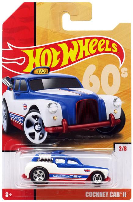 Hot Wheels Throwback Cockney Cab II Diecast Car #2/8 [60's]