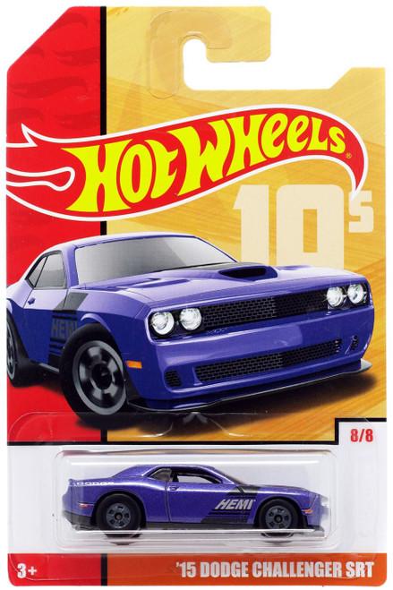 Hot Wheels Throwback '15 Dodge Challenger SRT Diecast Car #8/8 [10's]