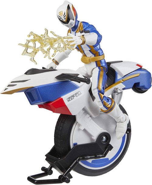 Power Rangers S.P.D. Lightning Collection Omega Ranger & Uniforce Cycle Exclusive Vehicle & Figure