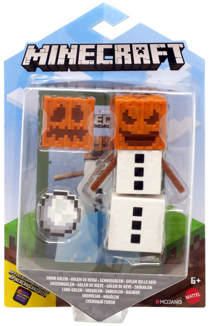 Minecraft Comic Maker Snow Golem Action Figure [Version 2]