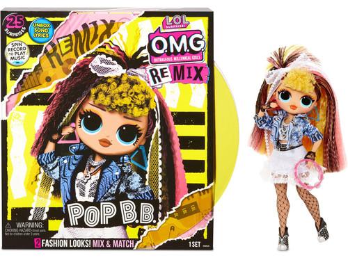 LOL Surprise OMG ReMix Series Pop B.B. Fashion Doll