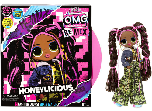 LOL Surprise OMG ReMix Series Honeylicious Fashion Doll