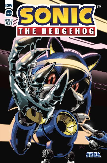 IDW Sonic The Hedgehog Annual 2020 Comic Book [Cover RI Yardley]