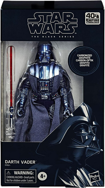 Star Wars The Empire Strikes Back Black Series Darth Vader Exclusive Action Figure [Carbonized Graphite, Metallic]