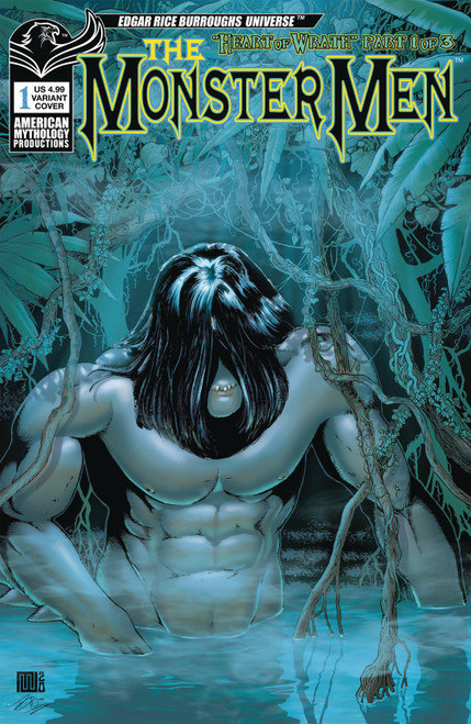 American Mythology Productions Monster Men #1 Comic Book [Variant Cover]