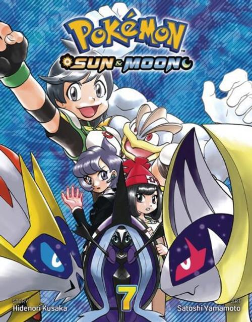 Viz Media Pokemon Sun & Moon Manga #7