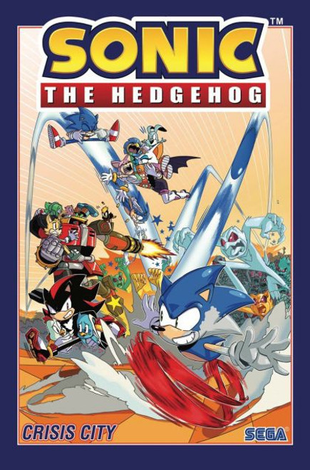 IDW Publishing Sonic The Hedgehog Crisis City Trade Paperback #5