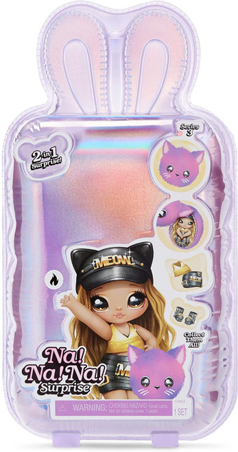 Na! Na! Na! Surprise Series 3 Figure [1 RANDOM Fashion Doll & Plush Pom Purse] (Pre-Order ships May)