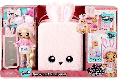 Na! Na! Na! Surprise Backpack Bedroom with Aubrey Heart Playset [Pink]