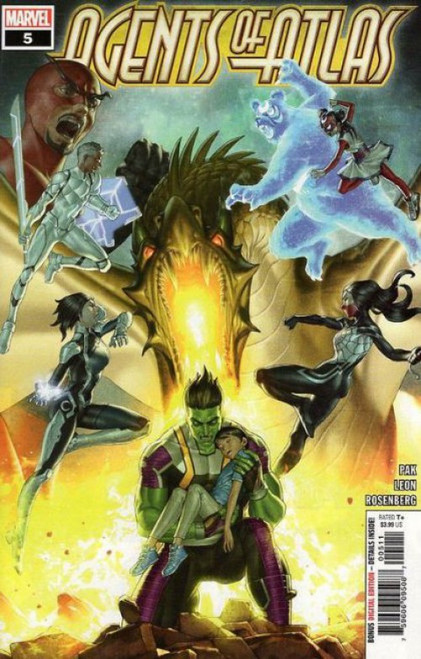 Marvel Agents of Atlas, Vol. 3 #5 Comic Book