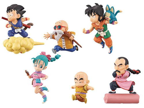 WCF Dragon Ball World 2.5-Inch Box of 12 PVC Figures