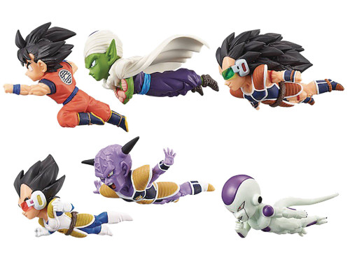 WCF Dragon Ball Z World WCF Dragon Ball World 2.5-Inch Box of 12 PVC Figures [Version 1] (Pre-Order ships November)