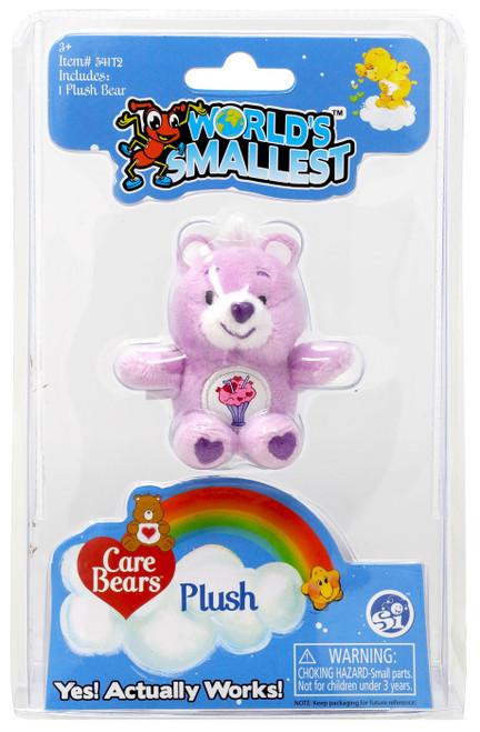 World's Smallest Care Bears Series 1 Share Bear Plush