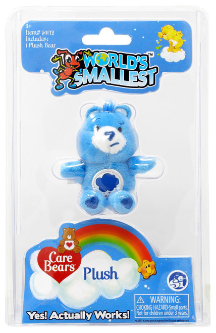 World's Smallest Care Bears Series 1 Grumpy Bear Plush