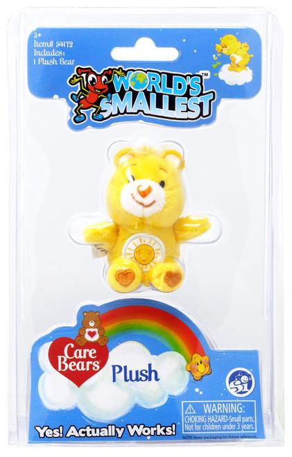 World's Smallest Care Bears Series 1 Funshine Bear Plush