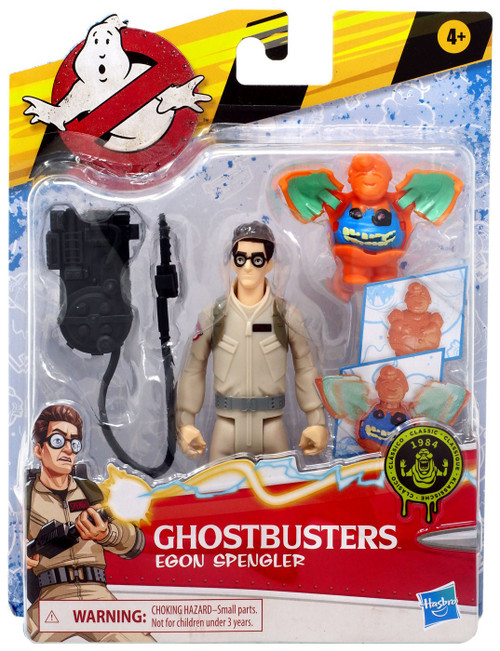 Ghostbusters Classic Fright Feature Egon Spengler Action Figure [with Interactive Ghost]