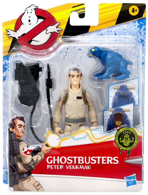 Ghostbusters Classic Fright Feature Peter Venkman Action Figure [with Terror Dog]