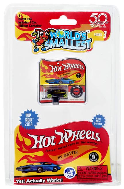World's Smallest Hot Wheels RIP Rod 2014 Diecast Car