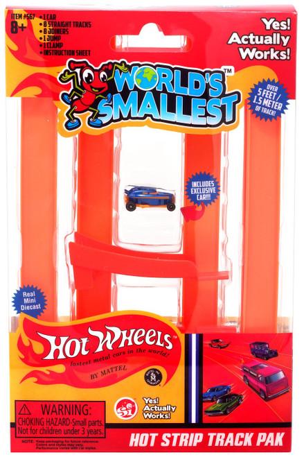 World's Smallest Hot Wheels Hot Strip Track Pak Track Set
