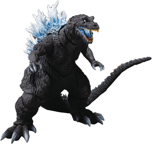 Godzilla, Mothra and King Ghidorah: Giant Monsters All-Out Attack S.H. Monsterarts Godzilla Action Figure [2001 Heat Ray Version] (Pre-Order ships November)