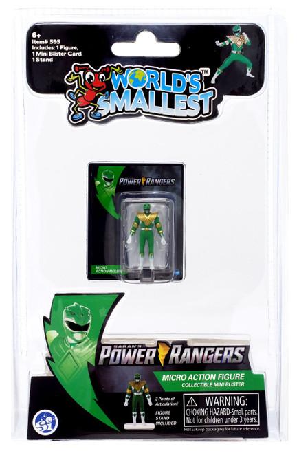 World's Smallest Mighty Moprhin Power Rangers Green Ranger Micro Figure