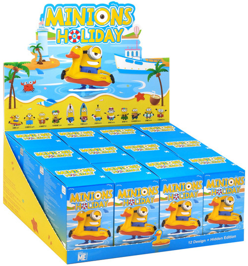 Pop Mart Minifigure Minions on Holiday Mystery Box [12 Packs]