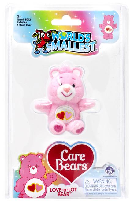 World's Smallest Care Bears Series 2 Love-a-Lot Plush