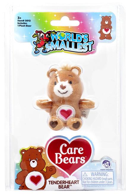 World's Smallest Care Bears Series 2 Tenderheart Bear Plush