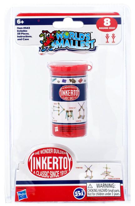 World's Smallest Tinker Toys Set