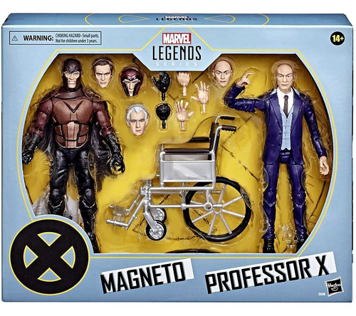 Marvel X-Men Legends 20th Anniversary Magneto & Professor X Action Figure 2-Pack