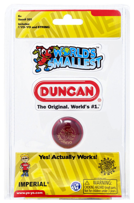 Duncan World's Smallest Imperial Yo-Yo [Red]