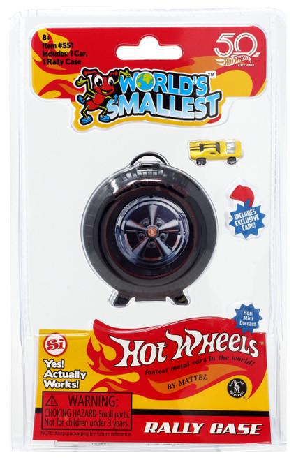 World's Smallest Hot Wheels Rally Case Diecast Car
