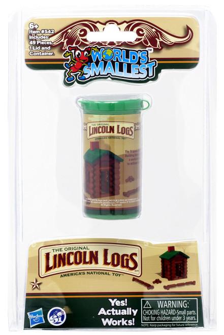 World's Smallest Lincoln Logs Building Set