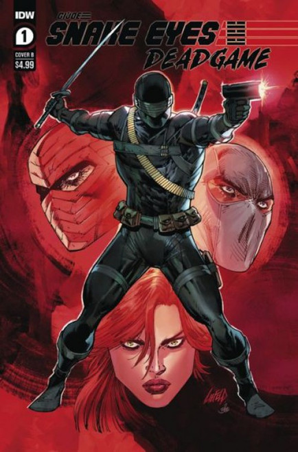 IDW Publishing Snake Eyes Deadgame #1B Comic Book
